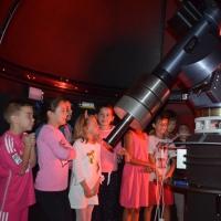Dentro del Observatorio 3º A