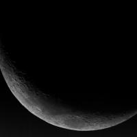 La Luna tomada desde la casa de un socio.