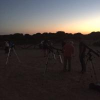 4 Montando los telescopios