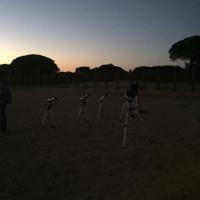 6 Montando los telescopios
