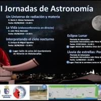 Cartel VI Jornadas Astronomicas